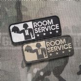 Mil-Spec Monkey Velcro Morale Patch Room Service